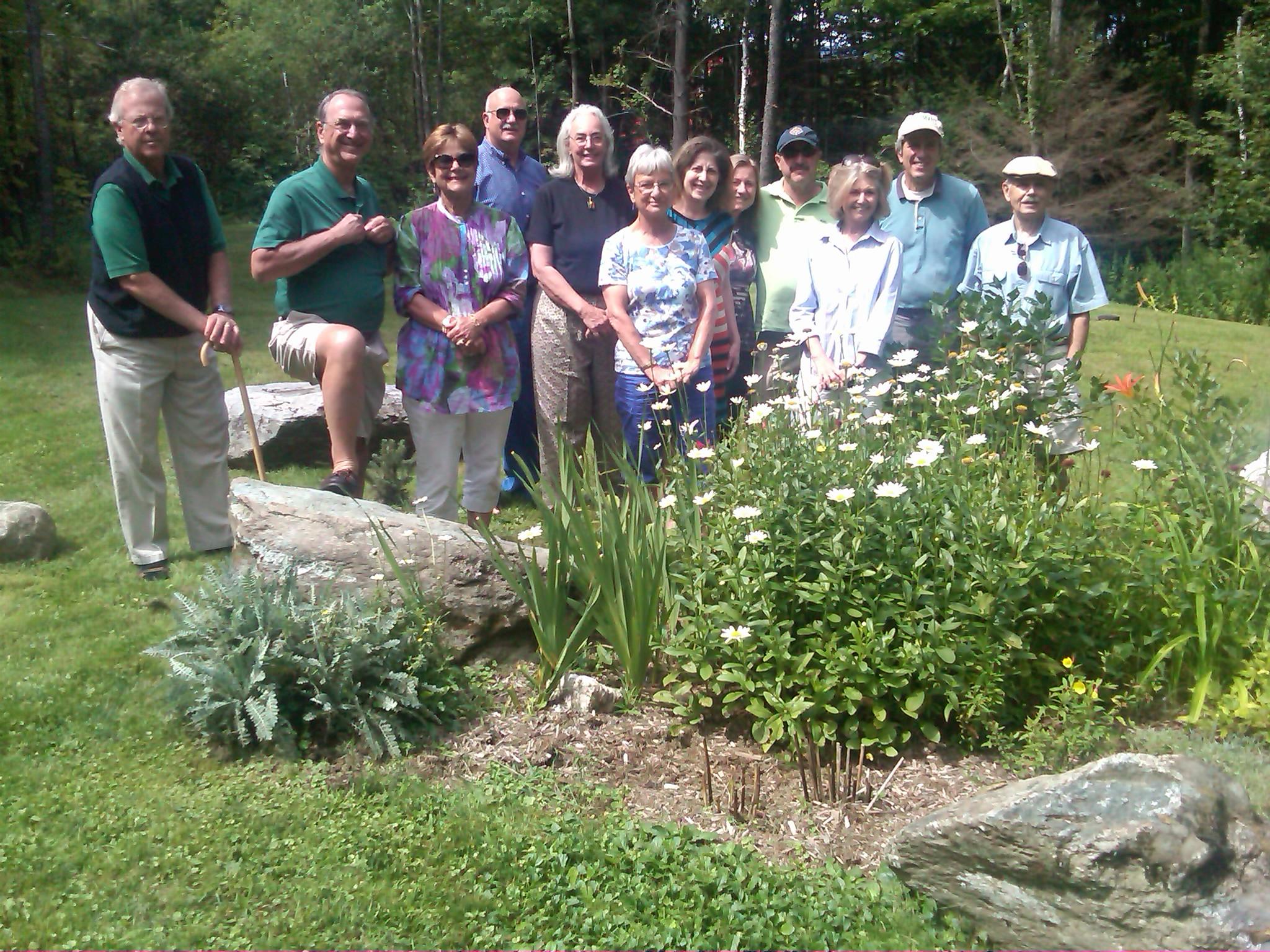 Alumni gather in Vermont on August 19, 2012
